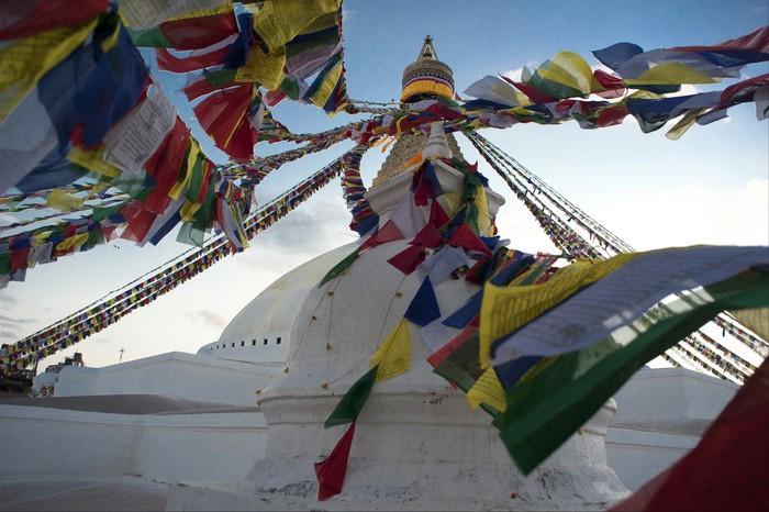 Непал. Ступа Боднатх. Фотография, Непал, Canon 5DM2, Буддизм