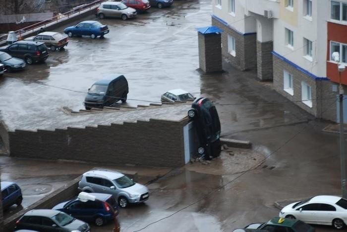 Когда мало мест для парковки во дворе