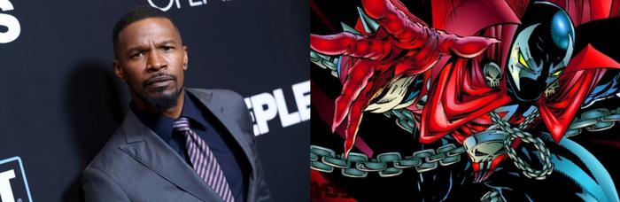 Джейми Фокс сыграет главную роль в ремейке «Спауна» Фильмы, Джейми Фокс, Спаун