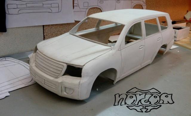Проект р/у Toyota Land Cruiser 200 drive2, радиоуправляемые модели, длиннопост, Land Cruiser, видео