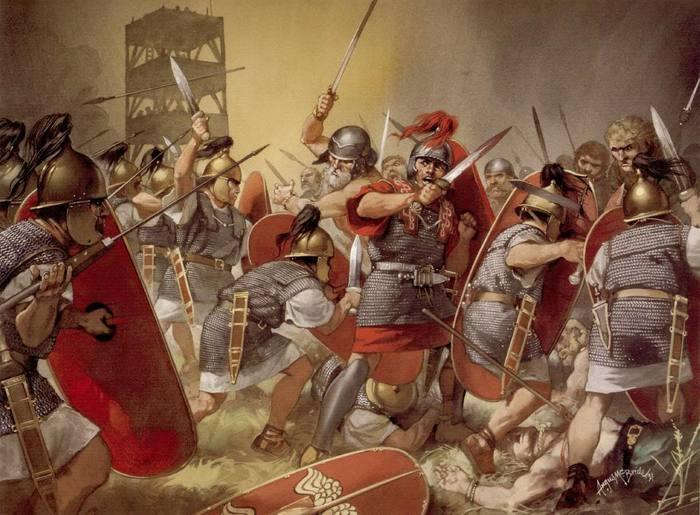 Битва при Алезии. Последнее сражение Галльской войны Древний Рим, Галльская войа, Цезарь, Гай Юлий Цезарь, Римские легионеры, Античность, Битва при Алезии, Осада, Длиннопост