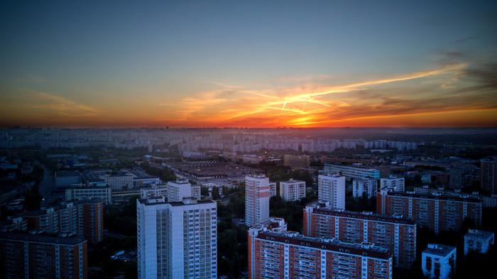 Нравятся мне закаты Начинающий фотограф, Закат, Фотография, Коптер, Photoshop, Длиннопост