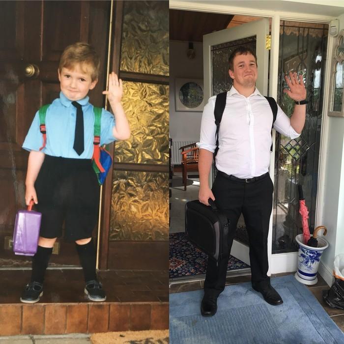 Первый день в начальной школе vs Последний день курсов для преподавателей