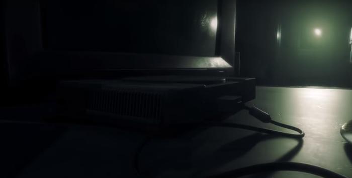 Старушка PS1 в трейлере Resident Evil 2 remake Пасхалка, Игры, Resident Evil 2
