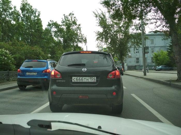 Черный кошак. Авто, Автомобильные номера