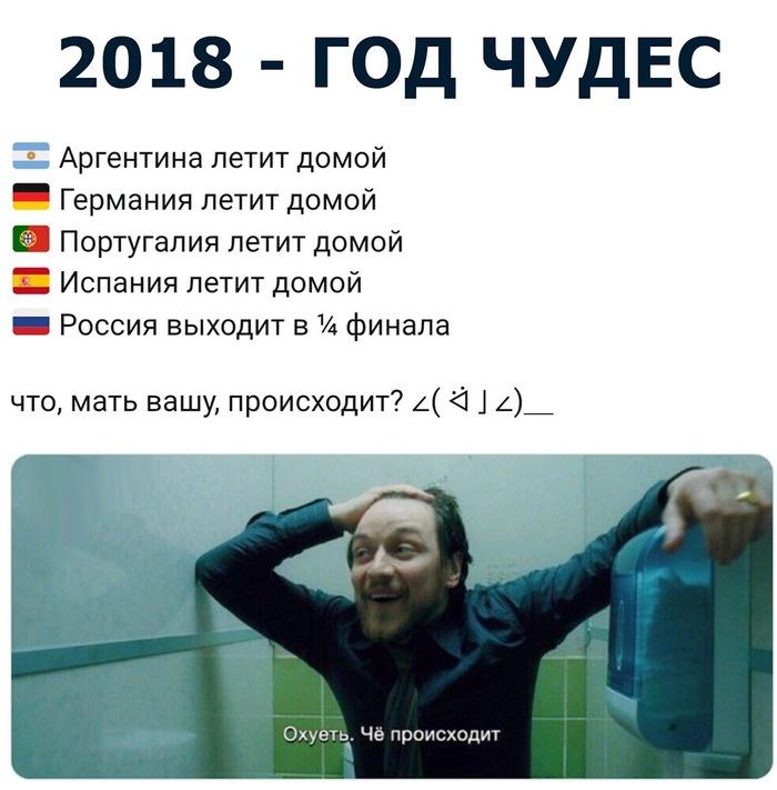 Коротко о происходящем Футбол, Сборная России, Победа, Чемпионат мира по футболу 2018