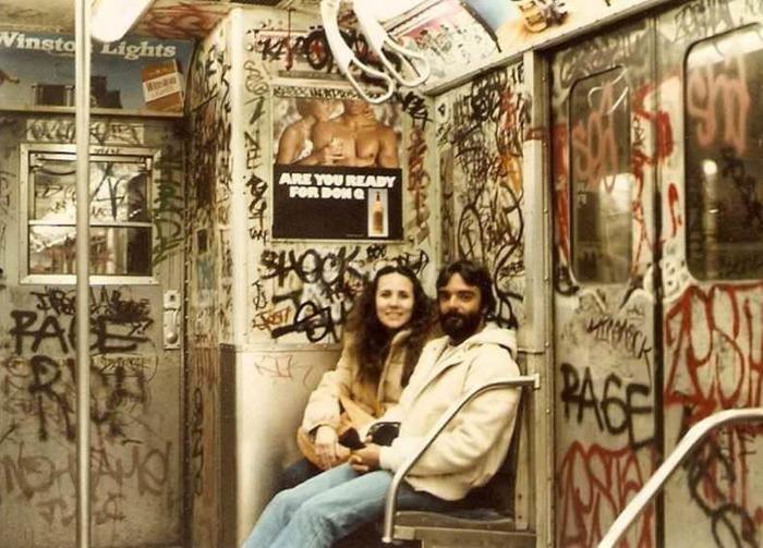 Метро Нью-Йорка в 70-х годах