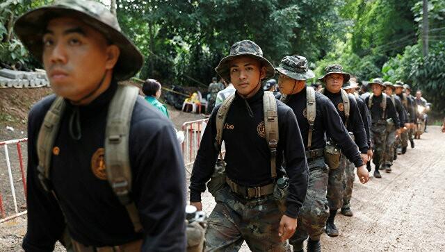 В Таиланде спасено еще четверо детей Таиланд, пропажа, новости, Дети, пещера, школьники, Спасение