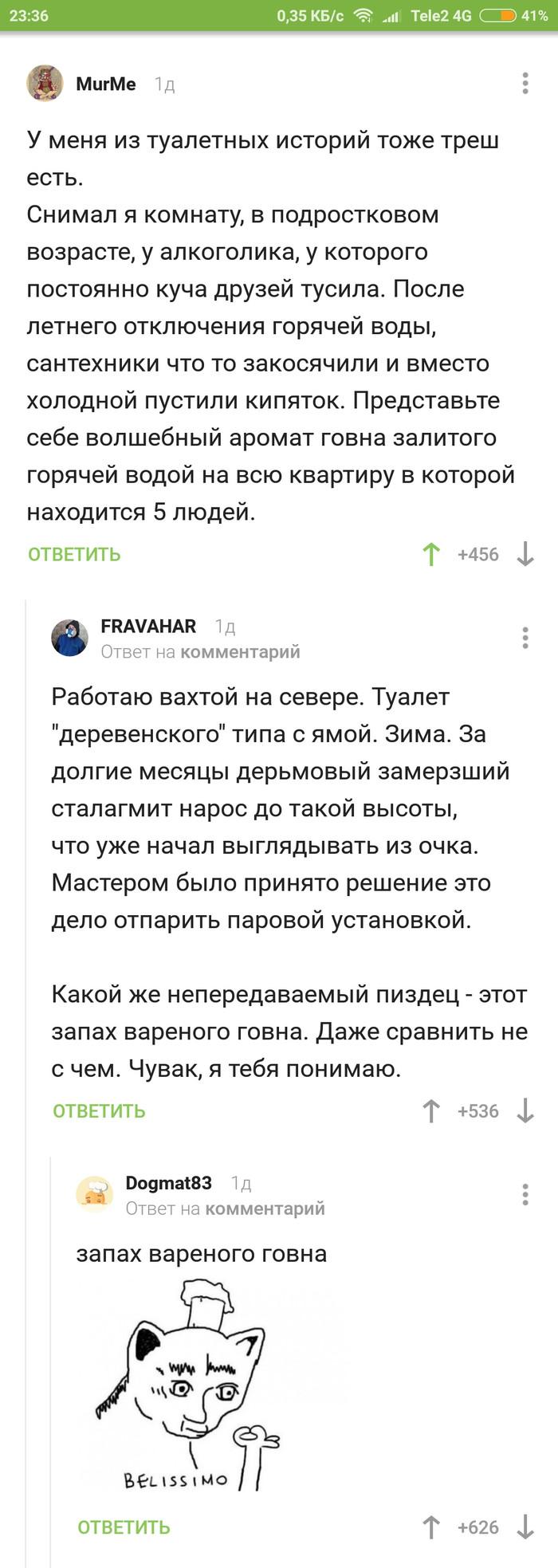 Варёное... Скриншот, Комментарии, Туалетный юмор, Длиннопост