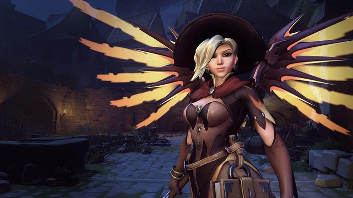 Mercy (Witch) - by -AGflower Косплей, Игры, Blizzard, Overwatch, Mercy, Девушки, AGflower