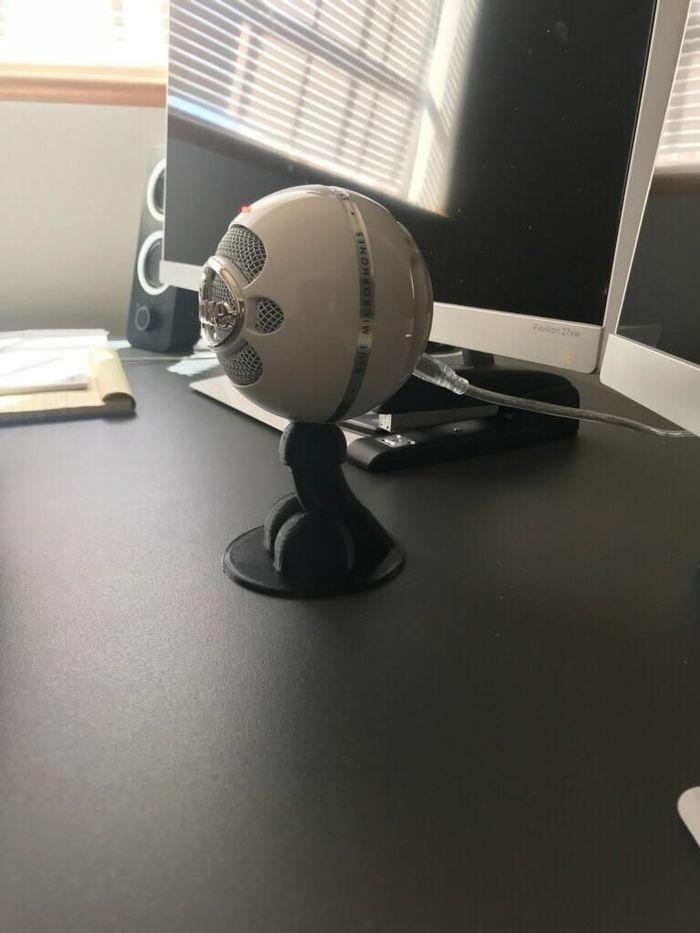 Новая подставка для микрофона 3D принтер, Шутник, Попросили-Сделали, Из сети