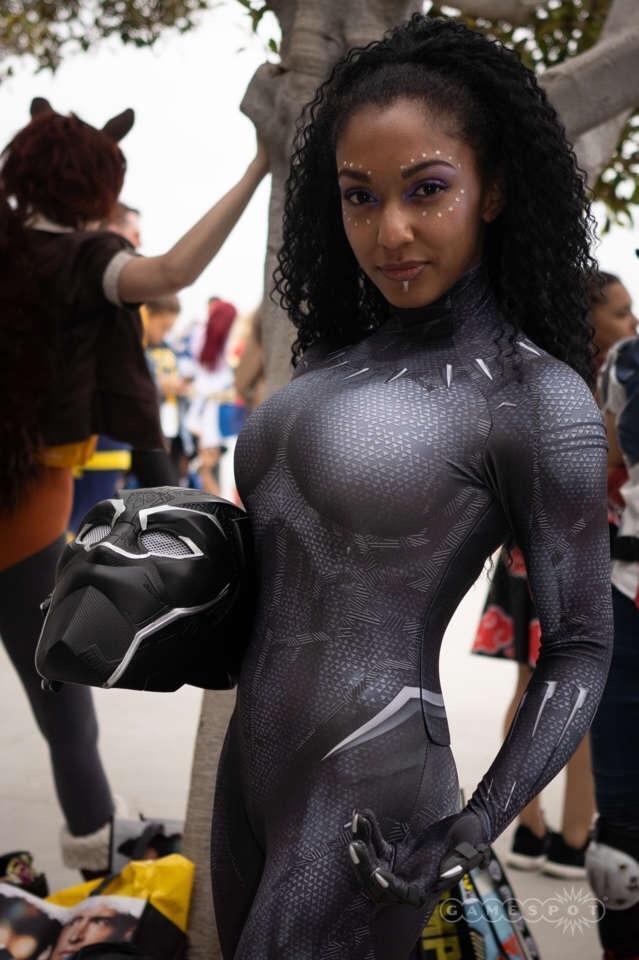 Чёрная пантера на Comic-Con 2018 вСан Диего