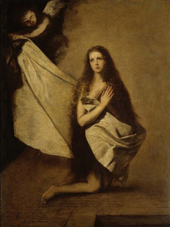 """История """"Святой Инессы"""" Живопись, Испания, 17 век, Святые, Длиннопост"""