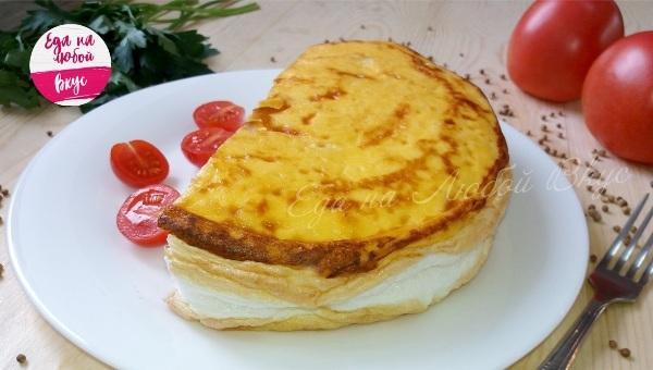 Омлет «Пуляр» на завтрак Омлет, Завтрак, Вкусно, Рецепт, Видео, Приготовление, Еда, Кулинария