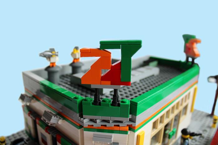 """Омская """"Пятерочка""""... Постойте, магазин """"24/7"""" из Grand Theft Auto 5 Gta 5, Lego, Самоделки, Магазин, Видео, Длиннопост"""