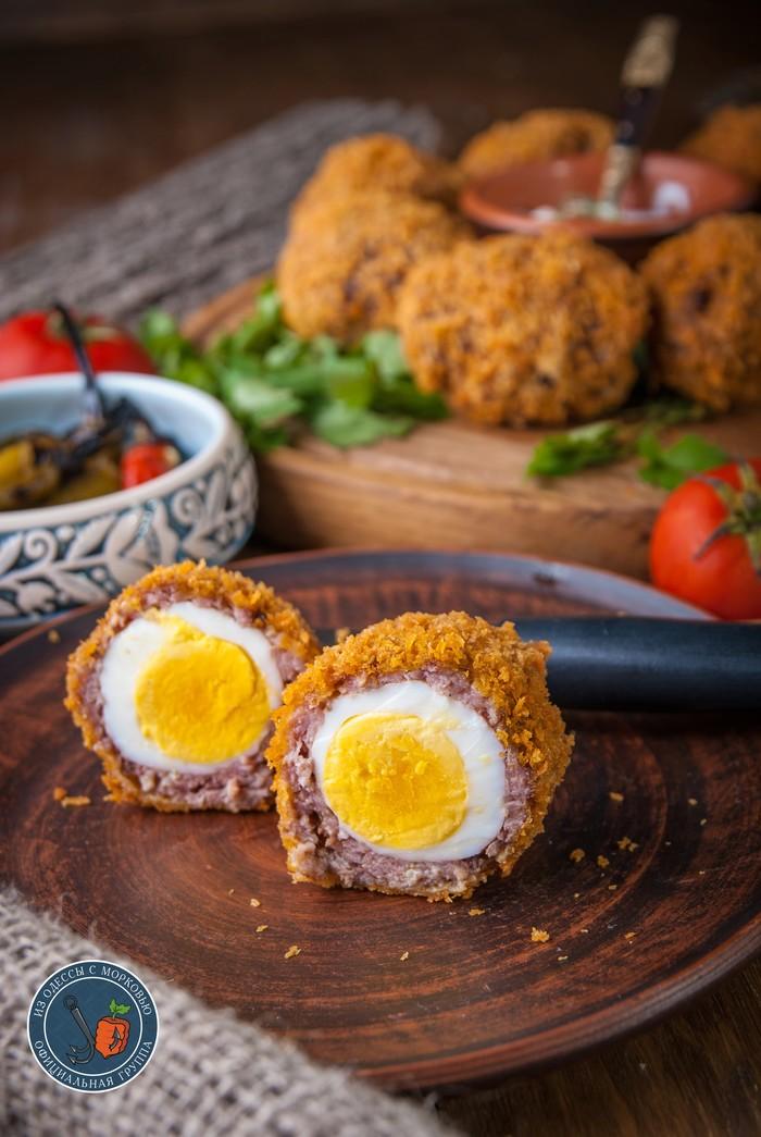 Яйцо по-шотландски для Хоббита из Шира Литературная кухня, Из Одессы с морковью, Кулинария, Еда, Рецепт, Фотография, Длиннопост
