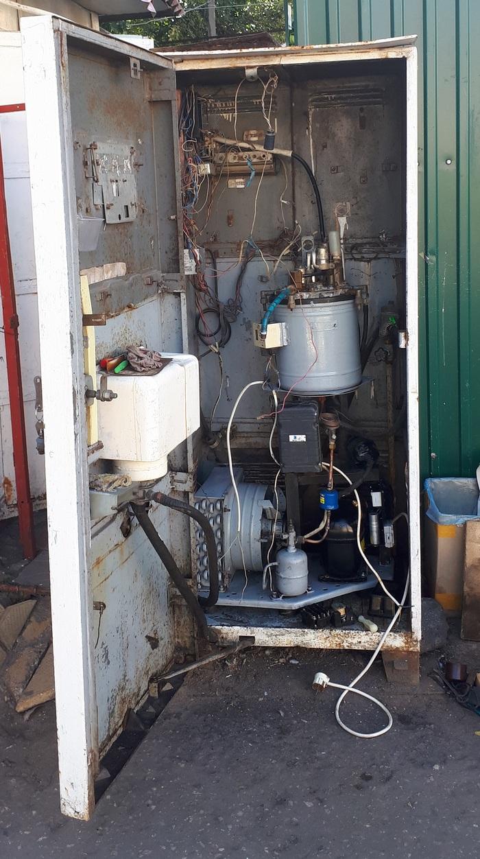 Автомат с газировкой Автомат с газировкой, Вода, Ностальгия, Длиннопост