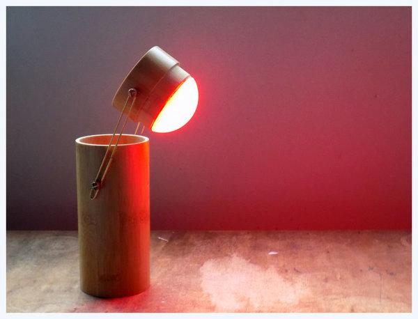 Настольная лампа из футляра для очков Самоделки, Своими руками, Длиннопост, Перевод
