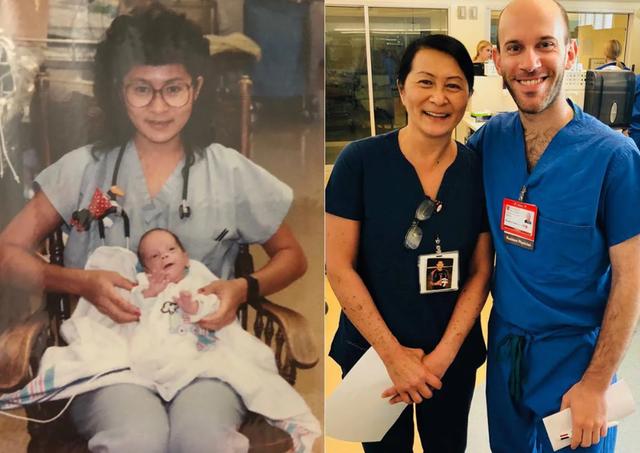 Медсестра выяснила, что ее коллега врач - тот недоношенный младенец, которого она выходила 28 лет назад