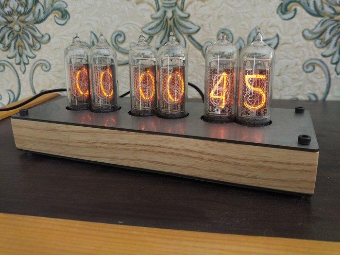 Часы Nixie clock: обновлённая версия на 6 лампах ИН-14 Ламповые часы, Я сделяль, Nixie clock, Diy lamp, Diy or die, Своими руками, Длиннопост