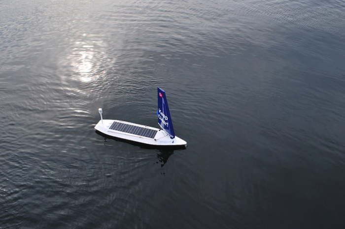 Морской бот Лодка, Парусник, Бот, Автономность, Роботизация