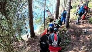 Разбежавшись, прыгнем со скалы...