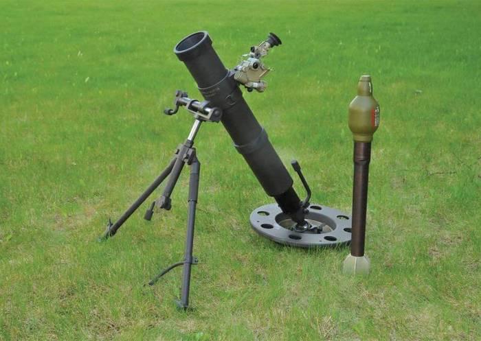 «Тихий миномёт» 2Б25 «Галл»: опасное оружие российского спецназа Оружие, Миномет, Снаряжение, Армия, Длиннопост, Видео