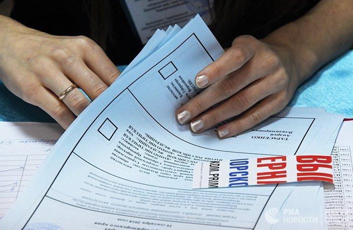 Во Владивостоке на 13 участках отменили итоги выборов Владивосток, Приморский край, Выборы, КПРФ, Митинг, Итоги выборов, Протест