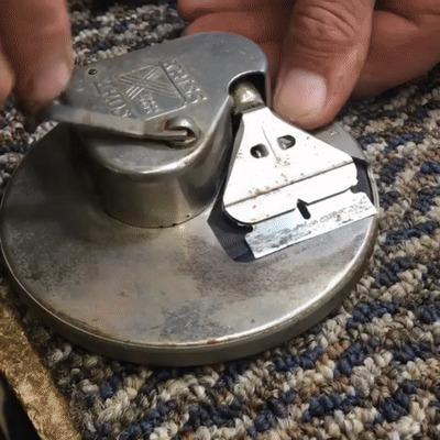 Старая заточка для лезвия бритвы