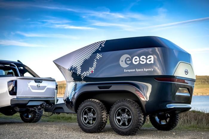 Мобильная обсерватория от ESA Космос, Обсерватория, Телескоп, Германия, ESA