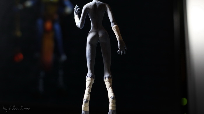 Фигурка Сораки (League Of Legends) из бархатного пластика (ч.1) Soraka, League of Legends, Своими руками, Лепка, Фигурка, Handmade, Рукоделие с процессом, Elen Reen, Длиннопост