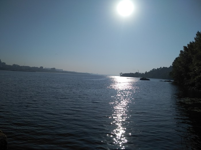 Просто фото с о.Хортица 4. Утро Река, Днепр, Хортица, Запорожье
