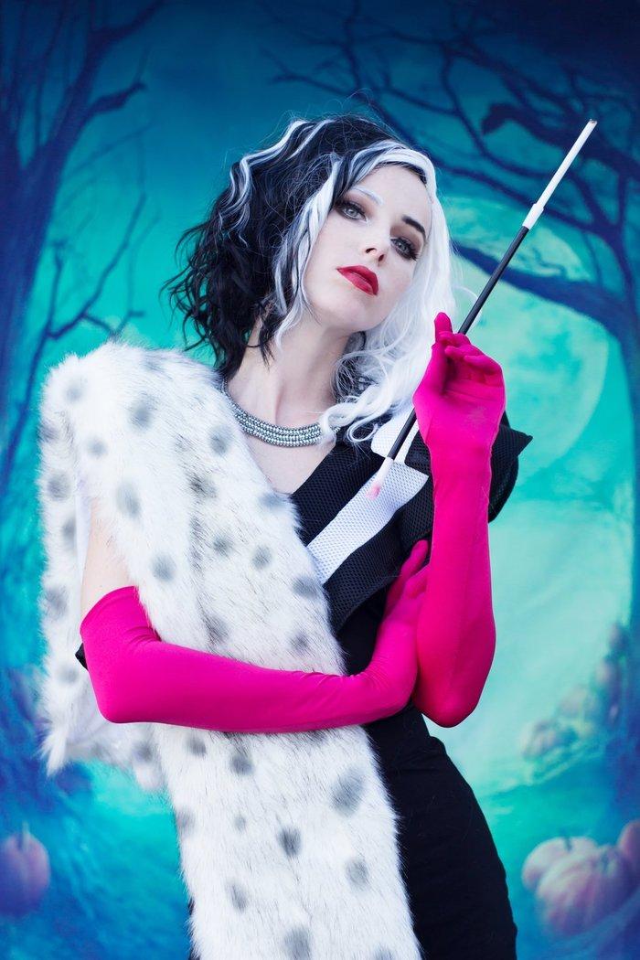 Cruella! Cruella, 101 далматинец, Косплей, MeganCoffey, Уолт Дисней, Фильмы, Красивая девушка, Длиннопост