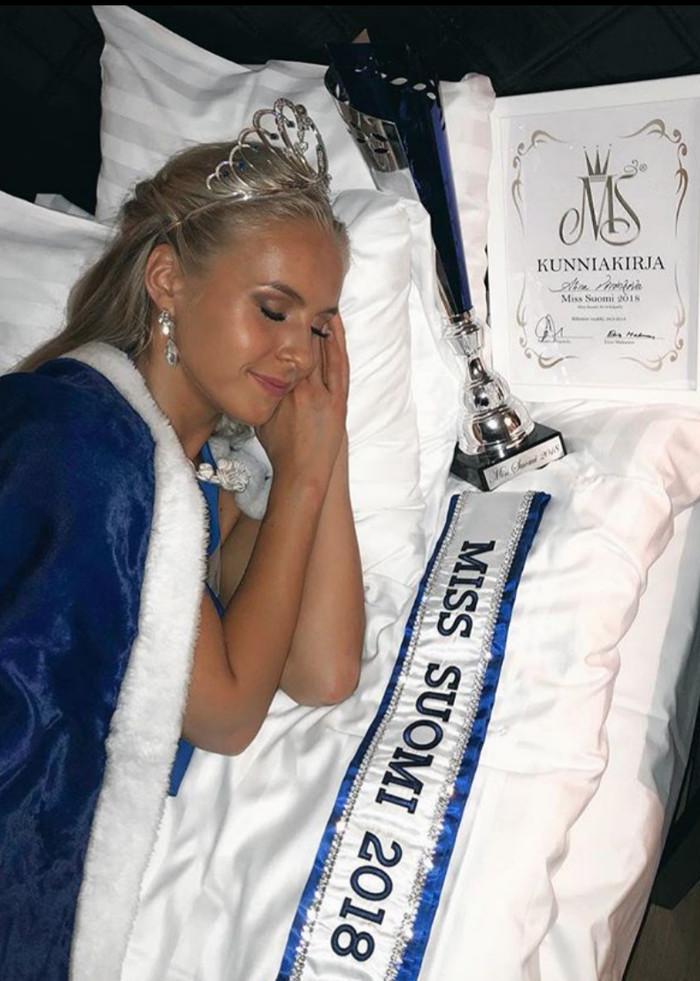 Титул «Мисс Финляндия» завоевала «русская» Конкурс красоты, Мисс Финляндия