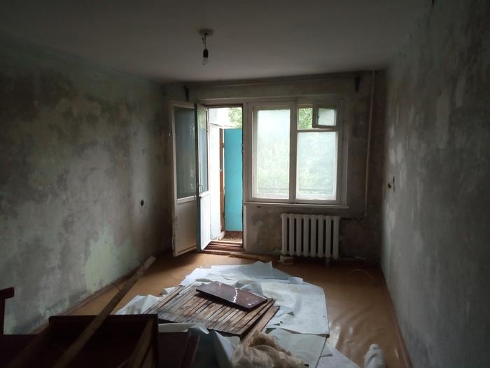 Ремонт хруща #02: Балдёжные работы, начало демонтажа Ремонт, Хрущевка, Панельный дом, Своими руками, Длиннопост