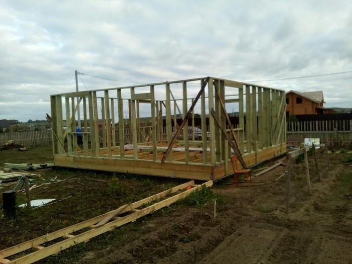 Как я строю дом. Строительство, Дом, Сам, Длиннопост, Своими руками, Каркасный дом