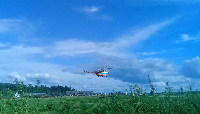 Моя работа Работа, Авиация, Ми-8, Длиннопост