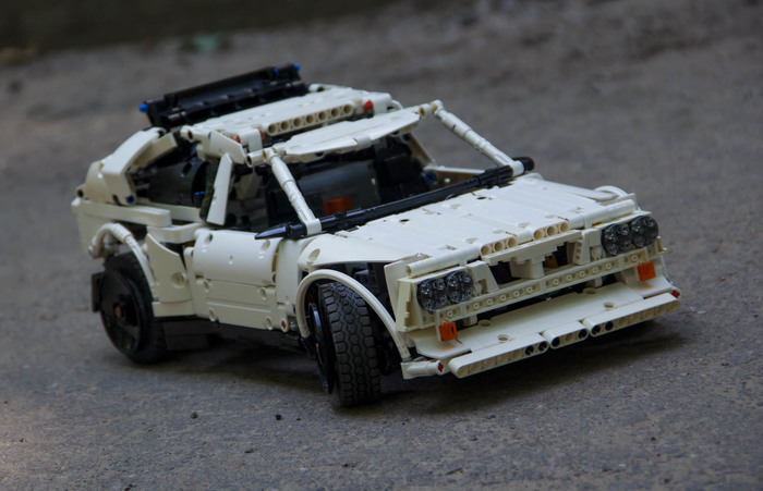 Lego Lancia delta s4 самоделка LEGO, LEGO technic, Самоделки, Длиннопост