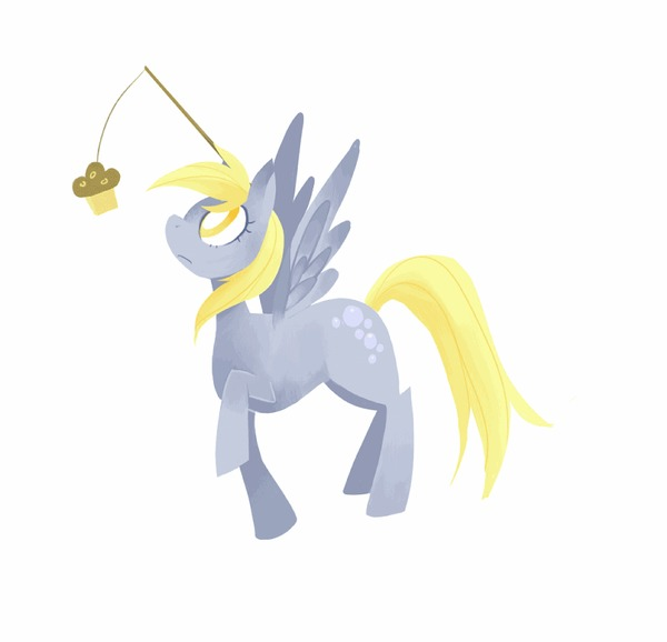 Endless Cycle My Little Pony, Derpy Hooves, Маффины, Гифка