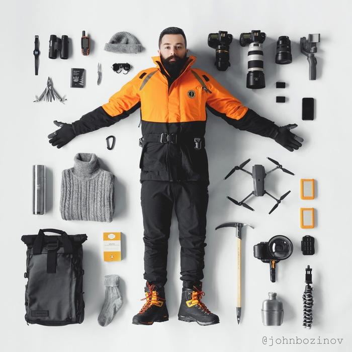 Небольшой набор для тех , кто хочет поснимать в Антарктике