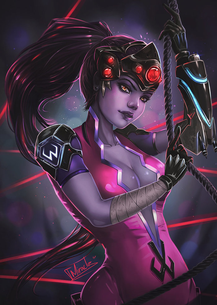 Widowmaker DeviantArt, Арт, Рисунок, Игры, Overwatch, Widowmaker