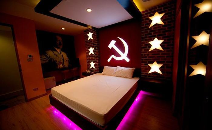 Просто интерьер в номере отеля, Бангкок Бангкок, Интерьер номера, Трэш