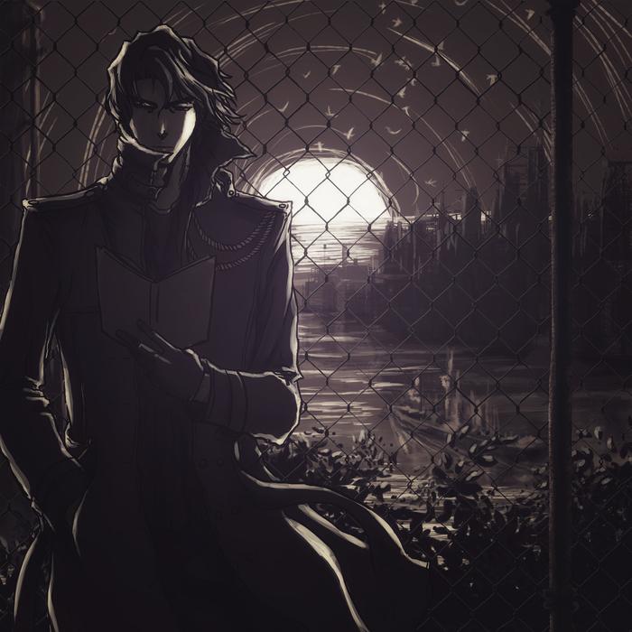 Айзен-сама Bleach, Aizen Sousuke, Anime Art, Аниме, Digital