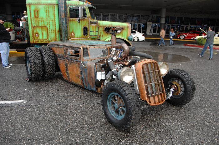 Тачки Машина, США, Длиннопост
