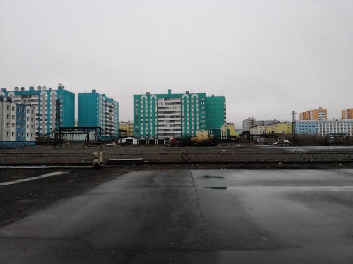 Обычный участник движения на Севере Ми-8т, Дудинка, Таймыр