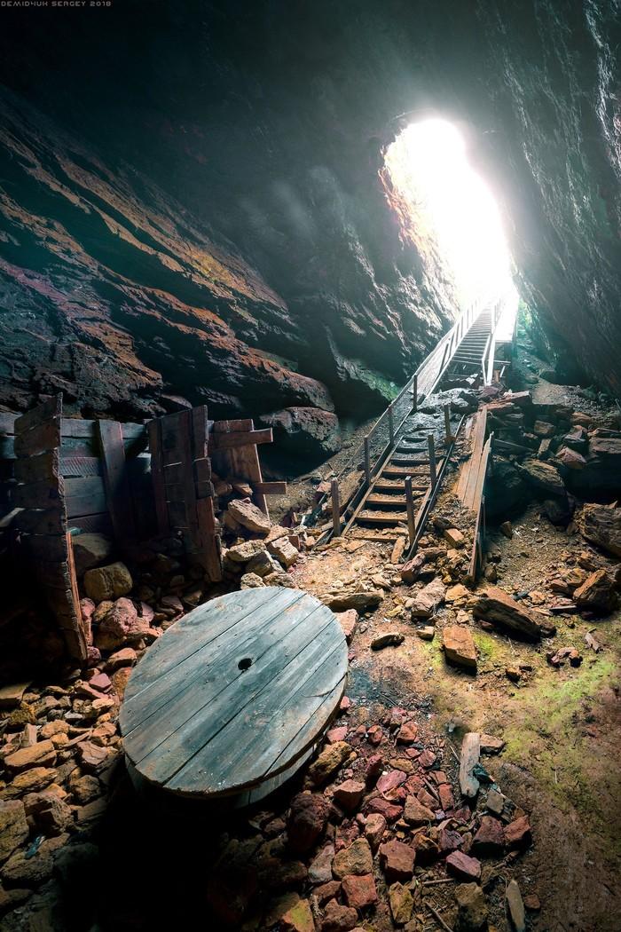Кочубеевский рудник. Рудник, Клаустрофобия, Фотография, Пейзаж, Пещера, Своя атмосфера, Каторга, Nikon, Длиннопост