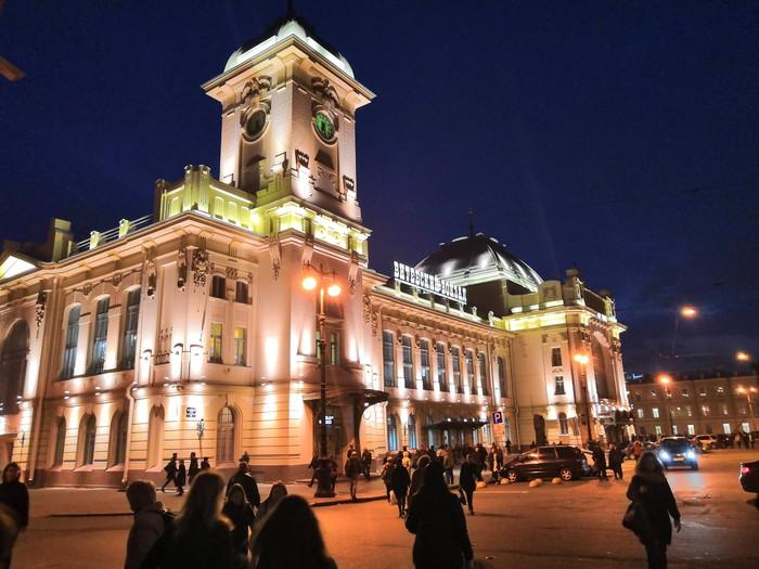Витебский Вокзал Фотография, Санкт-Петербург, Вокзал, Октябрь