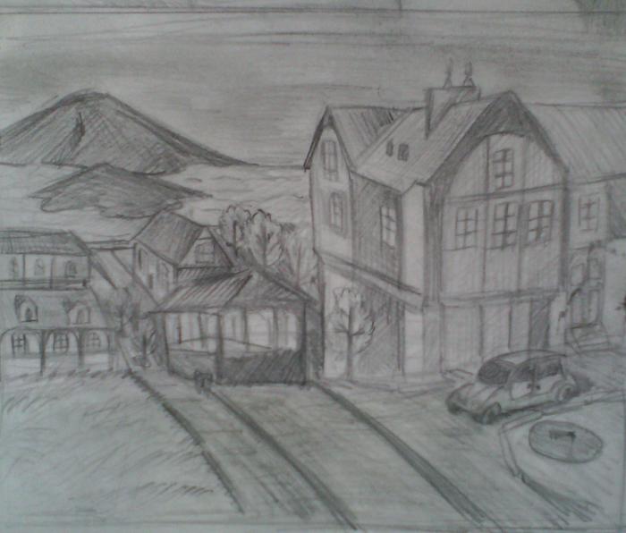 Рисунки карандашом Рисунок, Карандаш, Длиннопост
