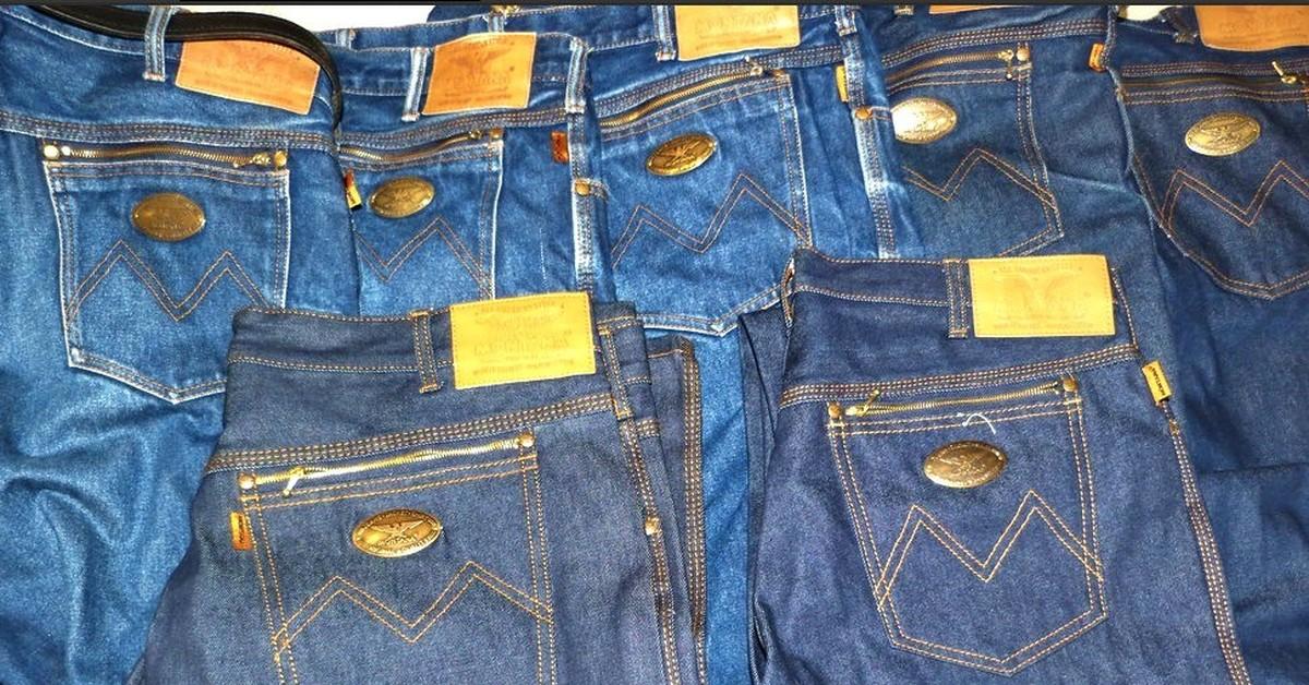 И джинсы уже совсем не те, что были в 80-х годах...