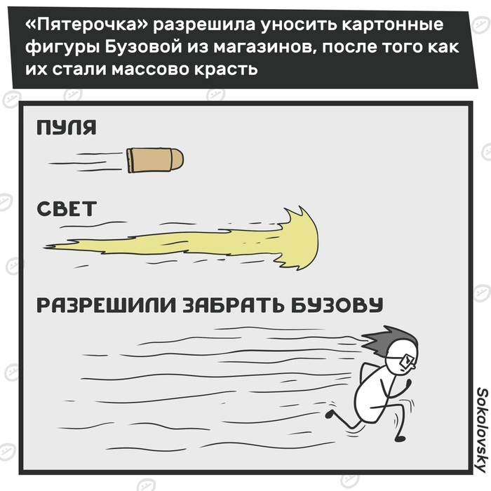 Плоская Бузова Бузова, Новости, Sokolovsky!, Пятерочка, Комиксы